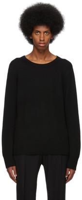 Dries Van Noten Black Wool Sweater