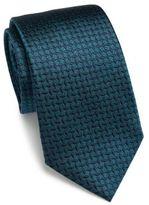 Armani Collezioni Tilted Striped Silk Tie