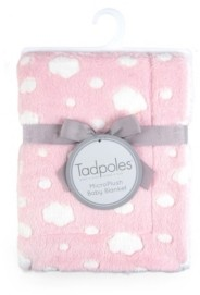 Tadpoles Plush Cloud Double Layer Super Soft Baby Blanket