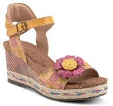 Spring Step L'artiste By Annmarie Wedge Sandal