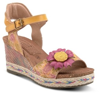 L'artiste By Spring Step Annmarie Wedge Sandal