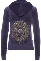 Juicy Couture Logo Velour Studded Medallion Robertson Jacket