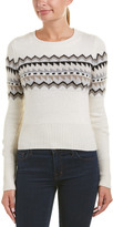 Autumn Cashmere Fair Isle Cashmere & Wool-Blend Sweater