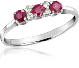 Tagliamonte Incanto Royale Ruby and Diamond 18K Gold Ring