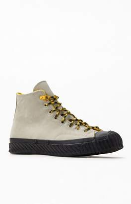 Converse Grey & Black Bosey Water-Repellent Chuck 70 Shoes