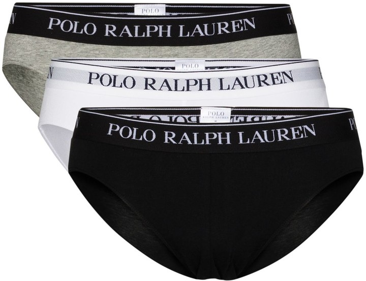 Polo Ralph Lauren Low-Rise Briefs (Pack Of 3)