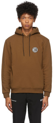 Colmar by White Mountaineering Brown Logo Hoodie