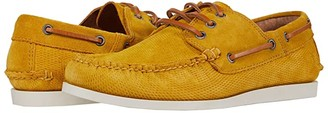Frye Briggs Boat Shoe (Honey Diamond Suede) Men's Lace up casual Shoes