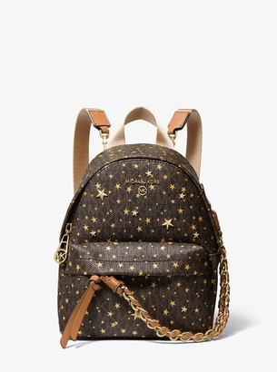 MICHAEL Michael Kors Slater Extra-Small Star Embellished Logo Convertible Backpack