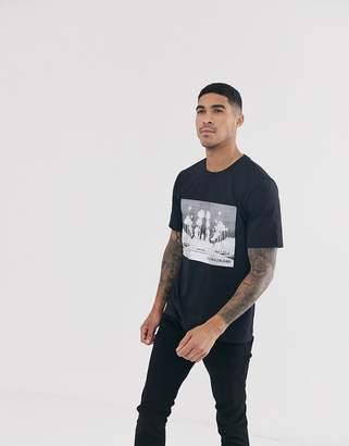 Calvin Klein Jeans cali landscape t-shirt-Black