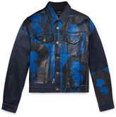 Calvin Klein + Andy Warhol Foundation Printed Denim Jacket