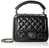 Zenith Women's Small Quilted Shoulder With Chain