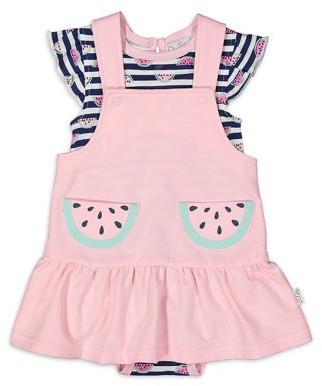 Quiltex Baby Girl Jumper Dress & Bodysuit