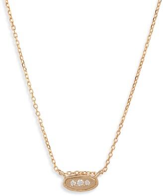 Jennie Kwon Designs Diamond Pendant Necklace