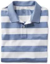 L.L. Bean Ashland Piqu Polo, Short-Sleeve Stripe