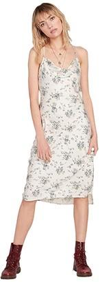 Volcom Blue Dusk Dress (Multi) Women's Clothing
