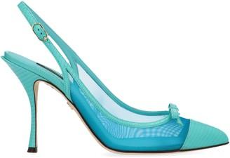 Dolce & Gabbana Bow Slingback Pumps