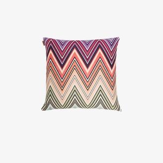 Missoni Home multicoloured Kew zigzag cushion