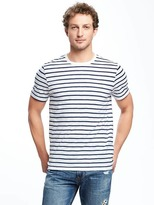 Old Navy Mariner-Stripe Slub-Knit Tee for Men