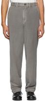 Issey Miyake Grey Basic Trousers