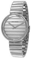 Issey Miyake Unisex SILAAA05 Please Analog Display Quartz Silver Watch