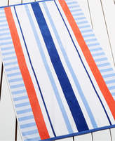 Martha Stewart Collection High Tide Stripe Beach Towel, Only at Macy's