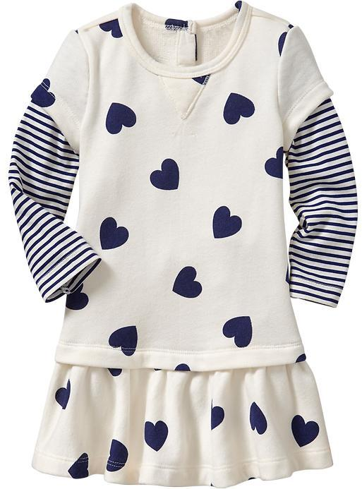 Old Navy 2-In-1 Terry Dresses for Baby