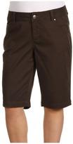 Jag Jeans Plus Size Greta Bermuda Twill (Fossil Brown) - Apparel