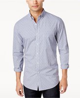 Club Room Men's Triangle-Dot Pattern Button-Down Shirt, Only at Macy's