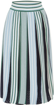 MSGM Pleated Knit Skirt