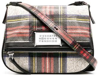 Maison Margiela Tartan Shoulder Bag