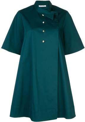 Oscar de la Renta button down shirt dress