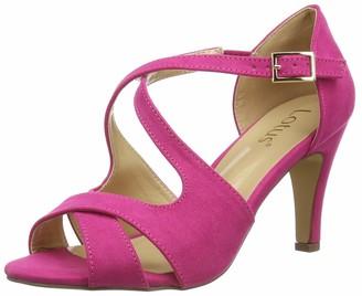 Lotus Women's Sadia Open Toe Heels