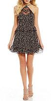 GB Y-Neck Floral Dress