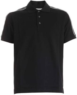 Givenchy Logo Tape Detail Polo Shirt