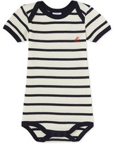 Petit Bateau Babies striped bodysuit