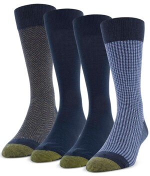 Gold Toe Men's 4-Pack Classic Menswear Socks