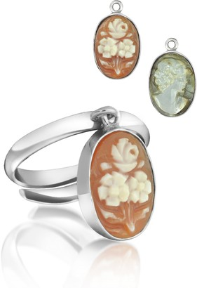 Cameo Charm Ring