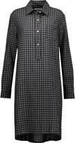 Etoile Isabel Marant Checked poplin shirt dress