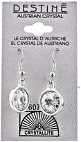 Crystallite Destine Rivoli Dangle Earrings