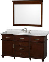 WYNDHAM COLLECTION Wyndham Collection Berkeley 60 inch Single Bathroom Vanity with 44 inch Mirror
