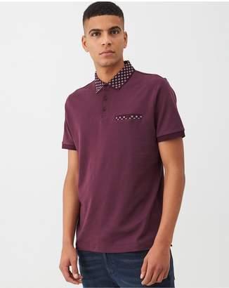 Very Smart Jersey Polo Shirt - Burgundy