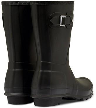 Hunter Original Short Welly Boots - Black
