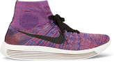 Nike Running - Lunarepic Flyknit High-top Sneakers