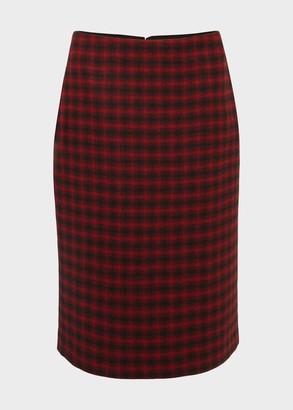 Hobbs Daphne Wool Skirt