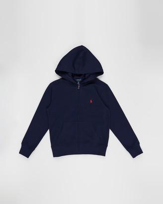 Polo Ralph Lauren Double-Knit Full-Zip Hoodie - Teens