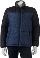 ZeroXposur Men's Flex Colorblock ThermoCloud Puffer Jacket
