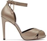 Reiss Polden Chain Detail Ankle Strap High Heel Sandals