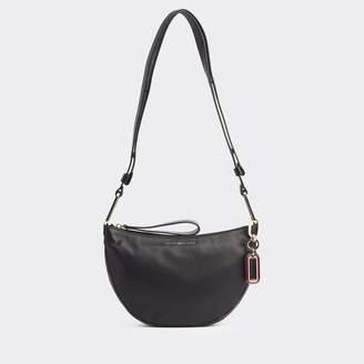 Tommy Hilfiger Leather Hobo Crossbody Bag