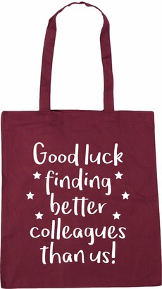 Hippowarehouse Good luck finding better colleagues than us! Tote Shopping Gym Beach Bag 42cm x38cm 10 litres